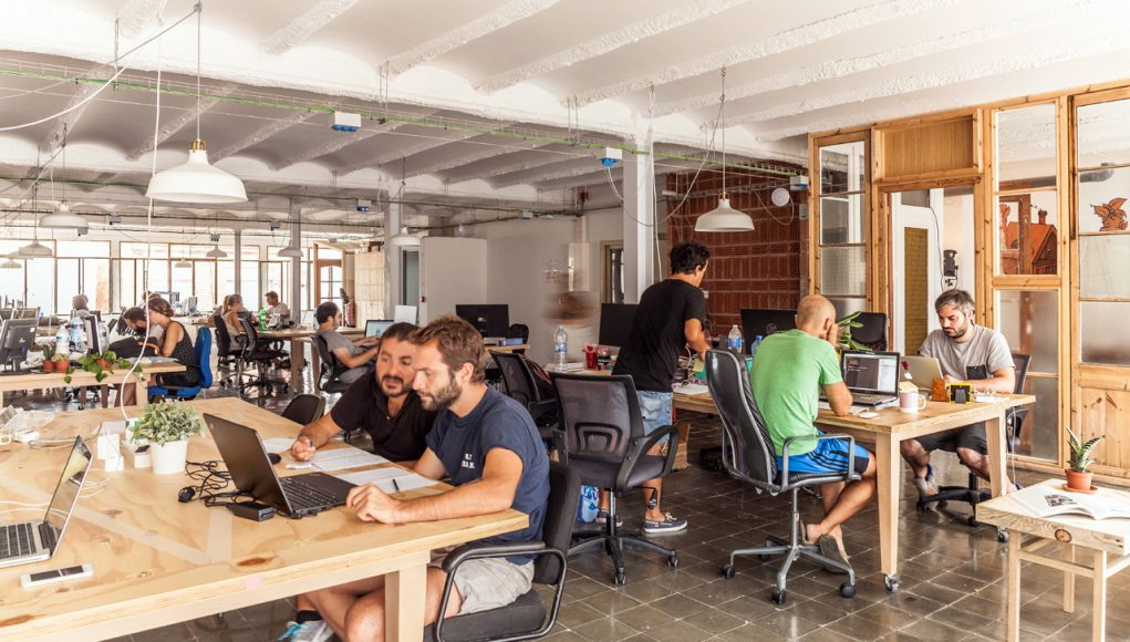 alphagamma do co-working spaces enhance productivity entrepreneurship startups