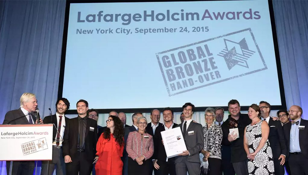 alphagamma LafargeHolcim Awards 2017 International Awards for Sustainable Construction opportunities
