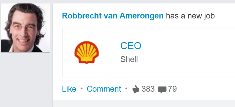 alphagamma This happens when you change your job title in 'CEO Shell' entrepreneurship