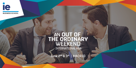 Join an Out of the Ordinary Weekend at IE Business School in Madrid