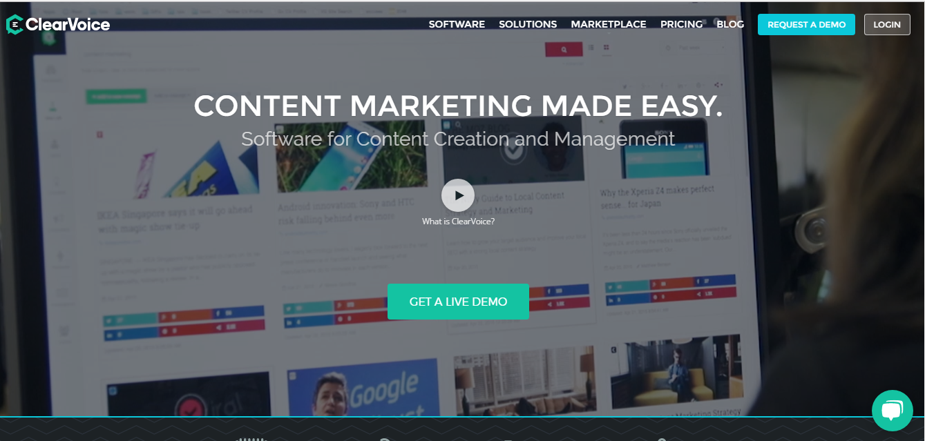 alphagamma 22 best content marketing platforms entrepreneurship opportunities clearvoice