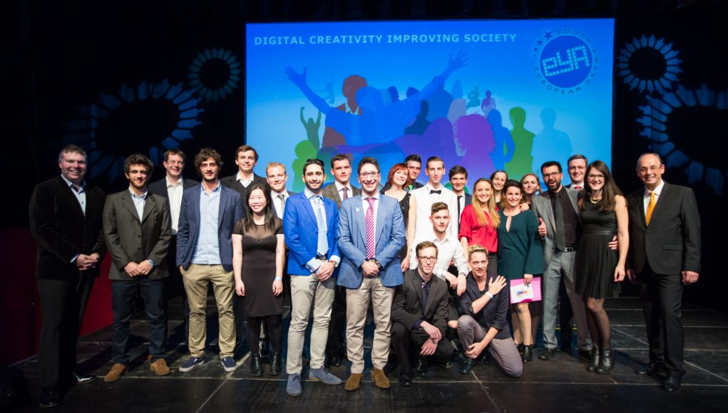 alphagamma European Youth Award 2017 Digital Creativity improving Society opportunities