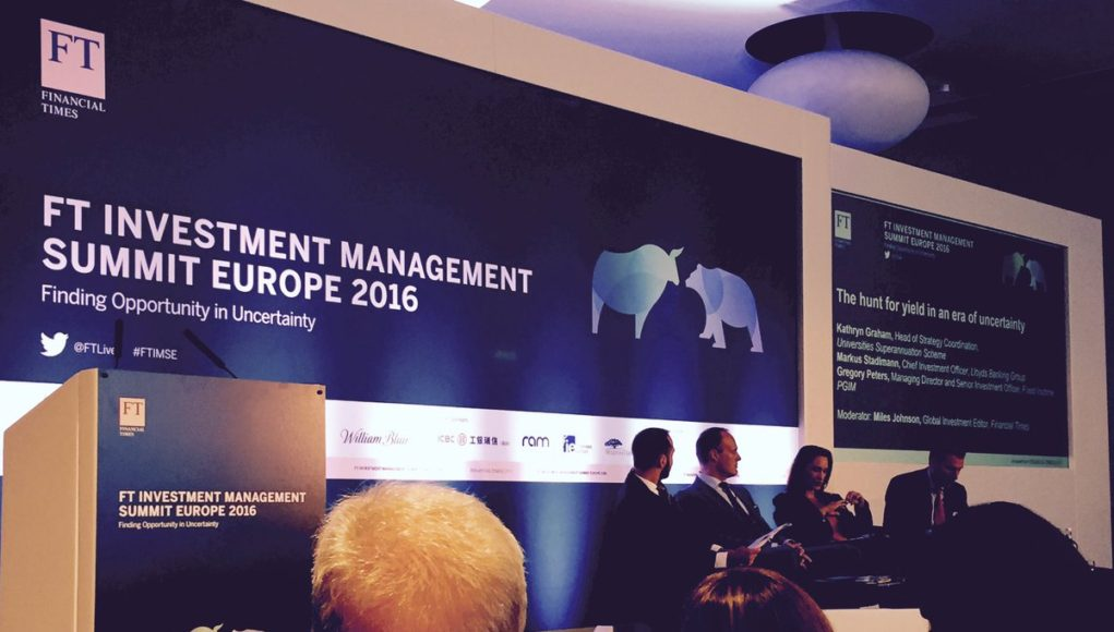 alphagamma FT Investment Management Summit Europe 2017 opportunities