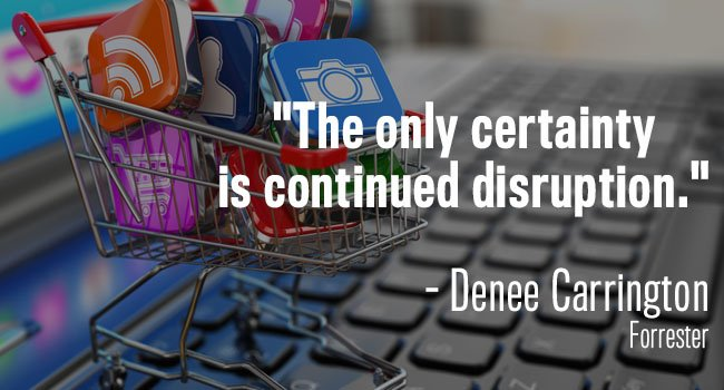 only certainty is continued disruption