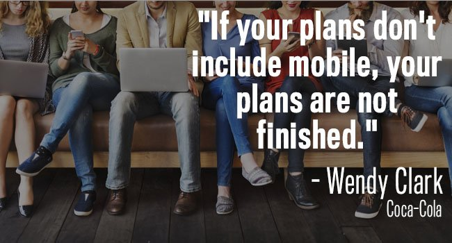 if plans don't include mobile they're not finished