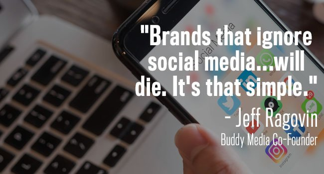 brands that ignore social media will die