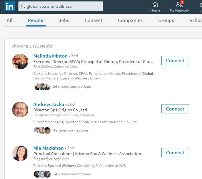 Attract more searched from people in your target industry on LinkedIn