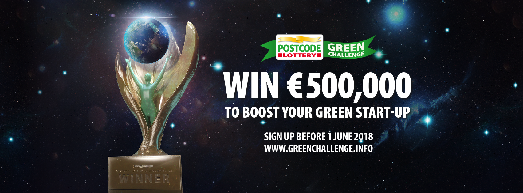 alphagamma Postcode Lottery Green Challenge 2018 opportunities