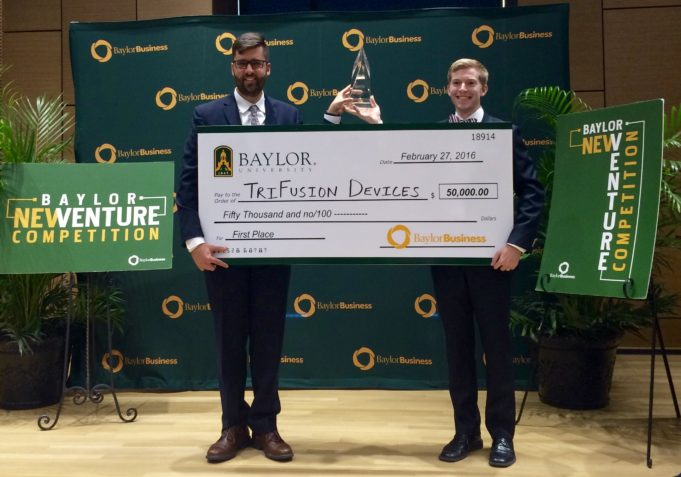 alphagamma Baylor New Venture Competition 2019 opportunities