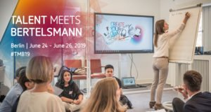alphagamma Talent Meets Bertelsmann 2018 opportunities
