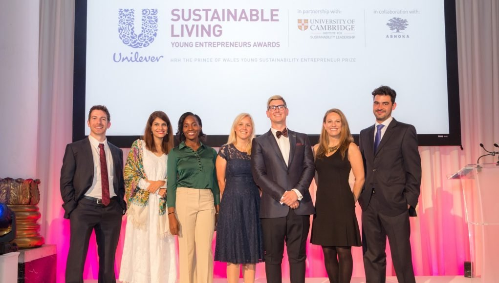 alphagamma Unilever Young Entrepreneurs Awards opportunities