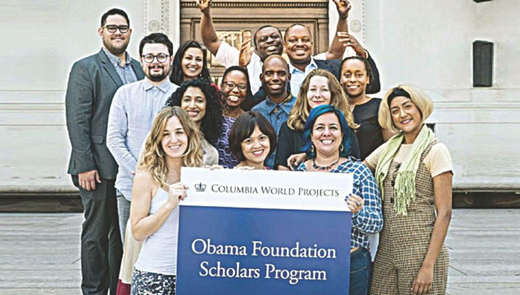 alphagamma Obama Foundation Scholars Program opportunities