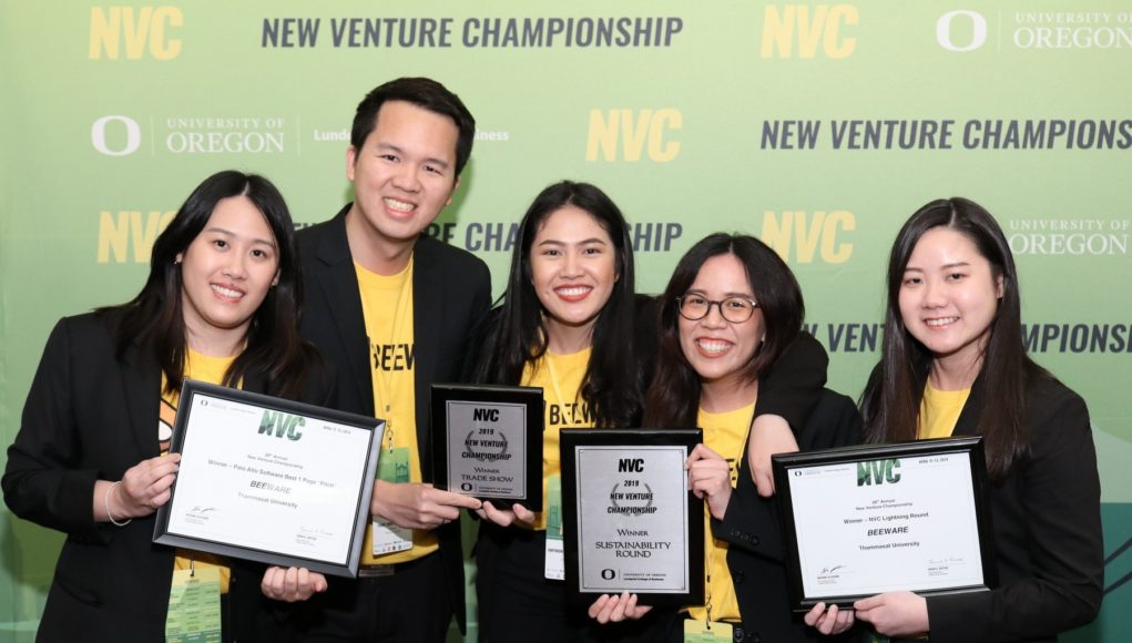 alphagamma New Venture Championship 2020 opportunities