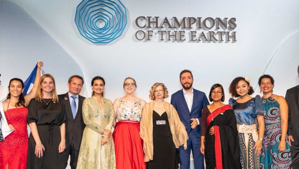 alphagamma Young Champions of the Earth 2020 opportunities