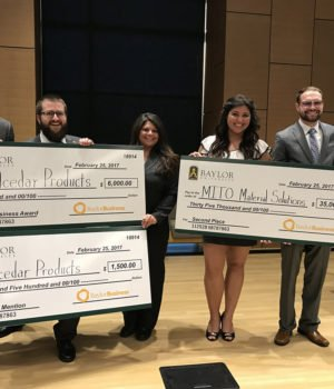 alphagamma Baylor New Venture Competition 2021 opportunities